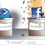 Foursquare vs Facebook the Concession