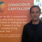 """""""Never doubt a cooperative group who form a company committed to changing the world. Indeed it is the most scalable thing that ever has."""" - Vinny Tafuro"""