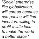 Social Enterprise like globalization