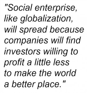Social Enterprise like globalization