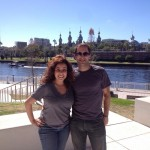 Nesrine Ismail and Vinny Tafuro